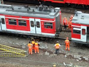 Bergung der S-Bahn 14.09.2010